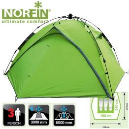 Трёхместная палатка Norfin Tench 3